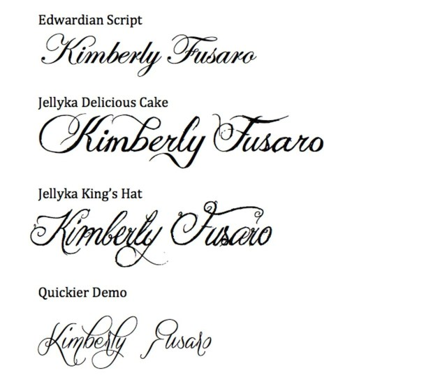 Wedding Invitation Font Cheap Wedding Calligraphy Easy Calligraphy For Your Wedding