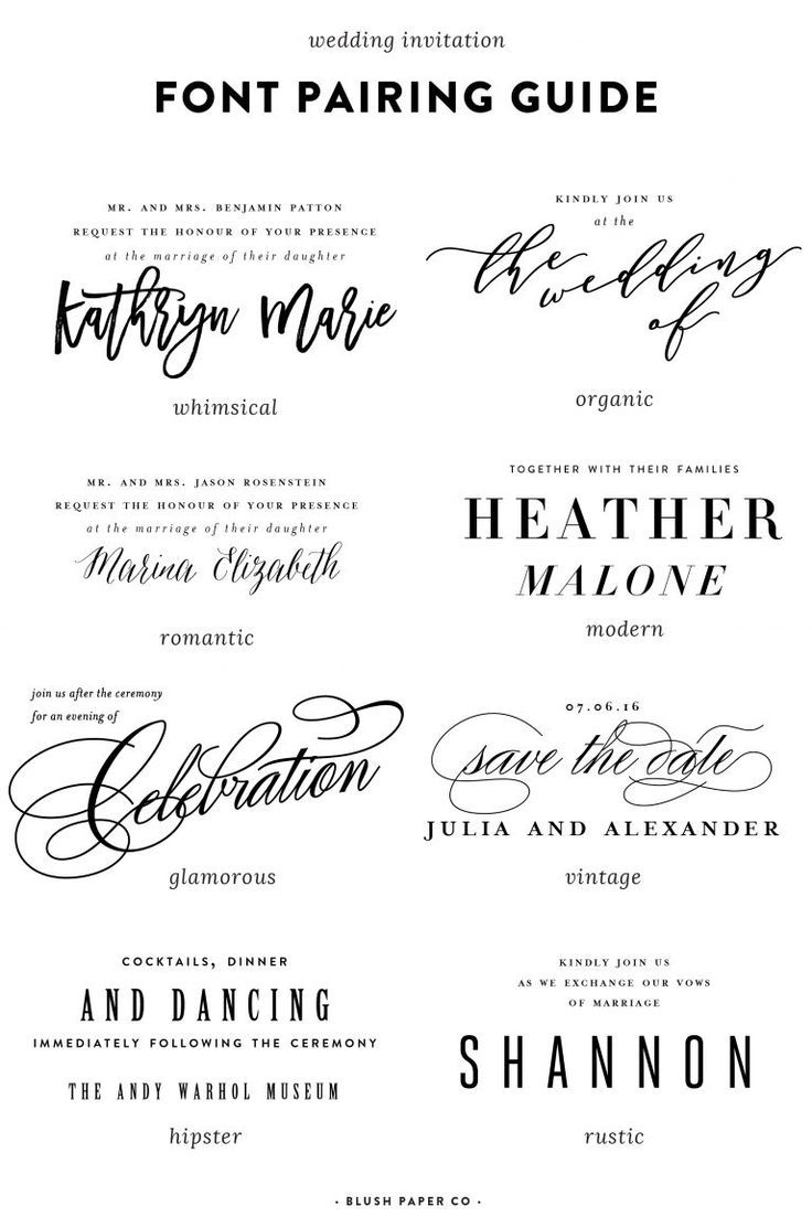 Wedding Invitation Fonts.Wedding Invitation Font Guide To Using Fonts On Wedding Invitations
