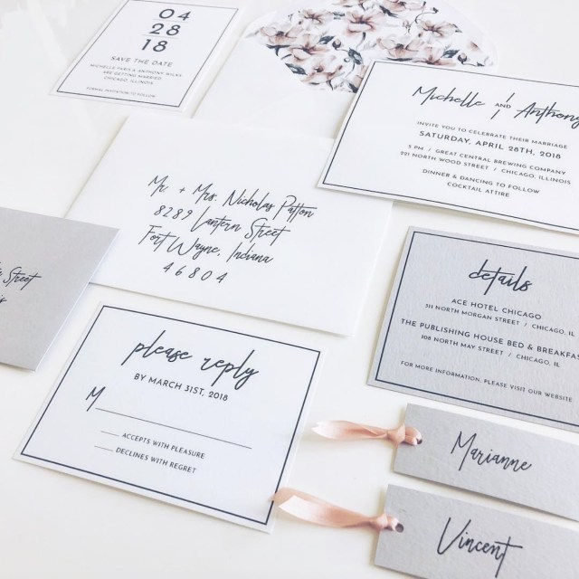 Wedding Invitation Font Trending Wedding Invitation Fonts For 201819