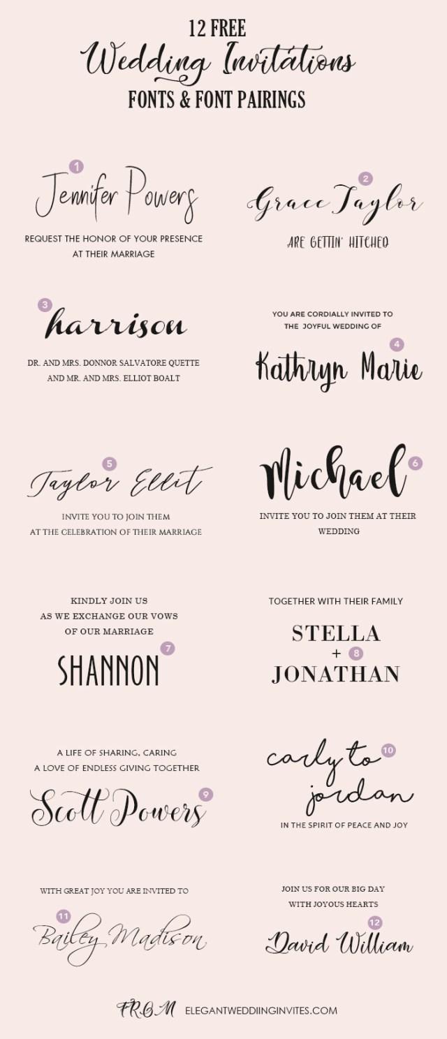Wedding Invitation Font Wedding Invitation Font Idasponderresearchco