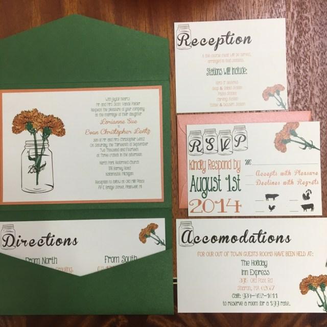 Wedding Invitation Pockets Pocket Wedding Invitations Northerly Design Printing Traverse Cit