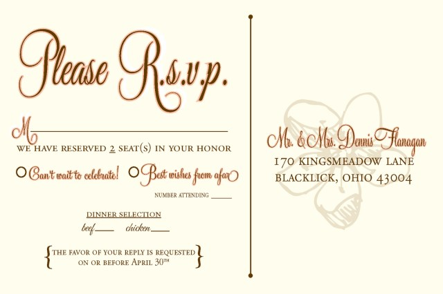 Wedding Invitation Rsvp Wording Wedding Rsvp Wording Google Search Cards In 2019 Pinterest