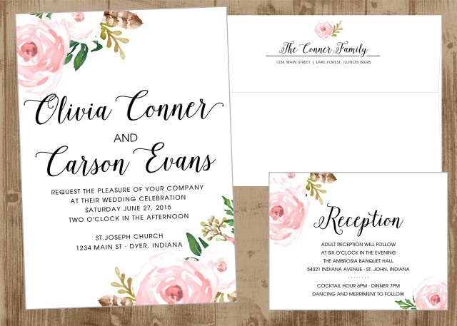 Wedding Invitation Size Wedding Invitations Affordable All For Wedding