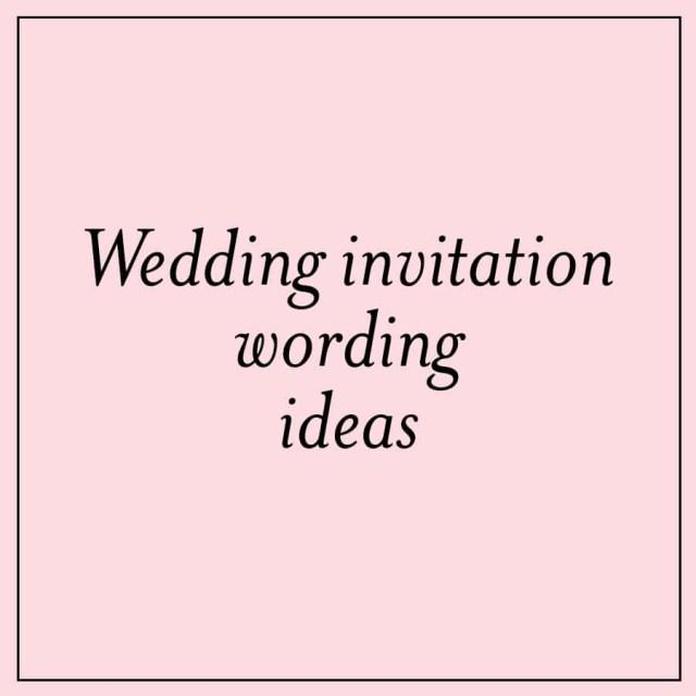 Wedding Invitation Text Unique Wedding Invitation Wording Ideas Custom Invitations