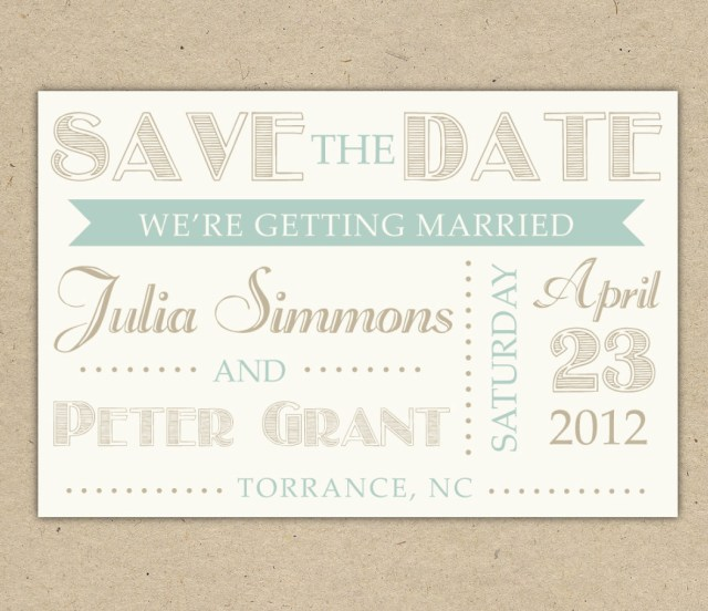 Wedding Invitations And Save The Dates Save A Date Template Idasponderresearchco