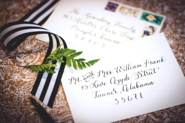 Wedding Invitations Envelopes How To Address Wedding Invitations Unveiled Zola