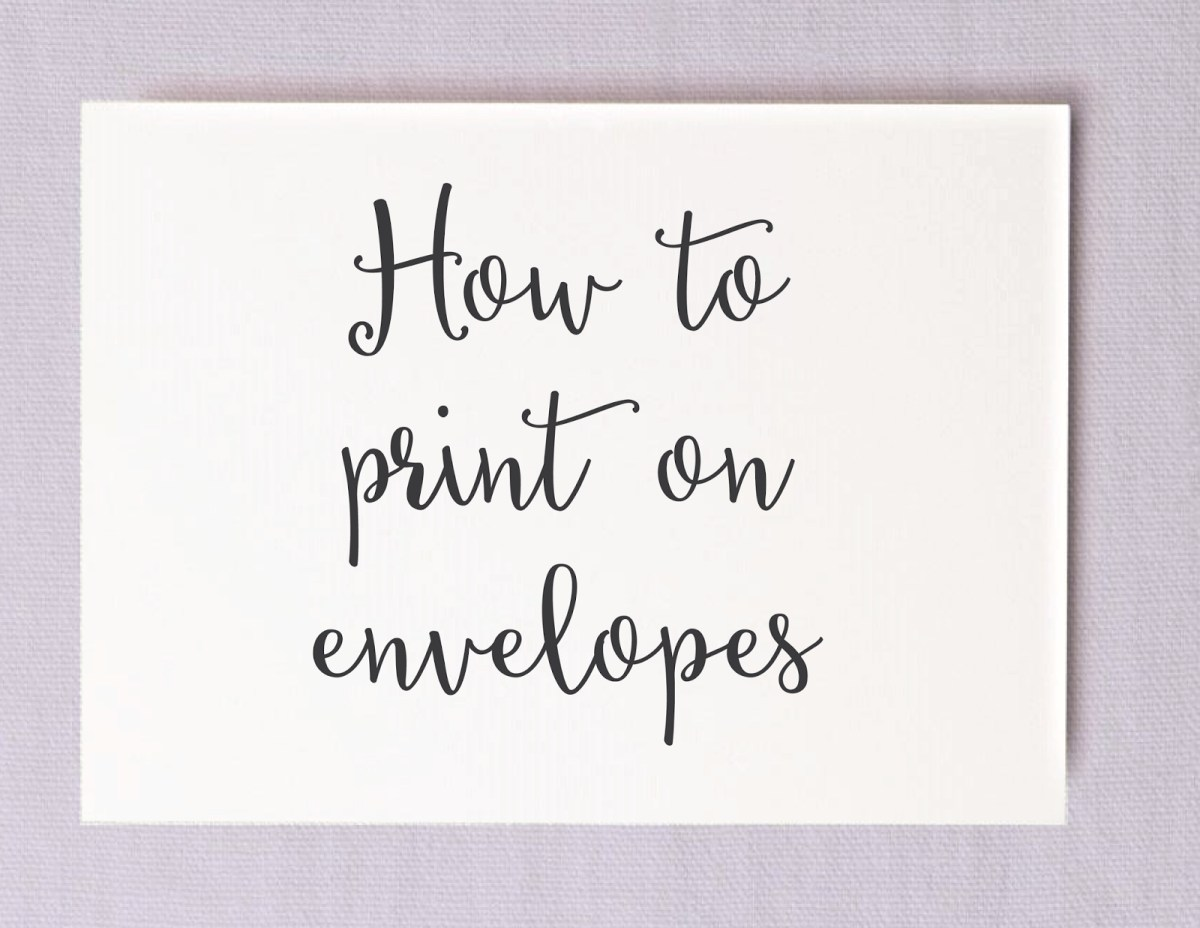 Wedding Invitations Envelopes Save Money On Calligraphy Printing Your Own Wedding Envelopes
