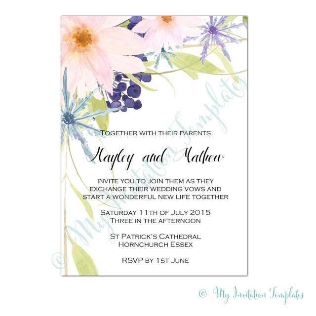 Wedding Invitations Essex Flower For Wedding Invitation Auroravine