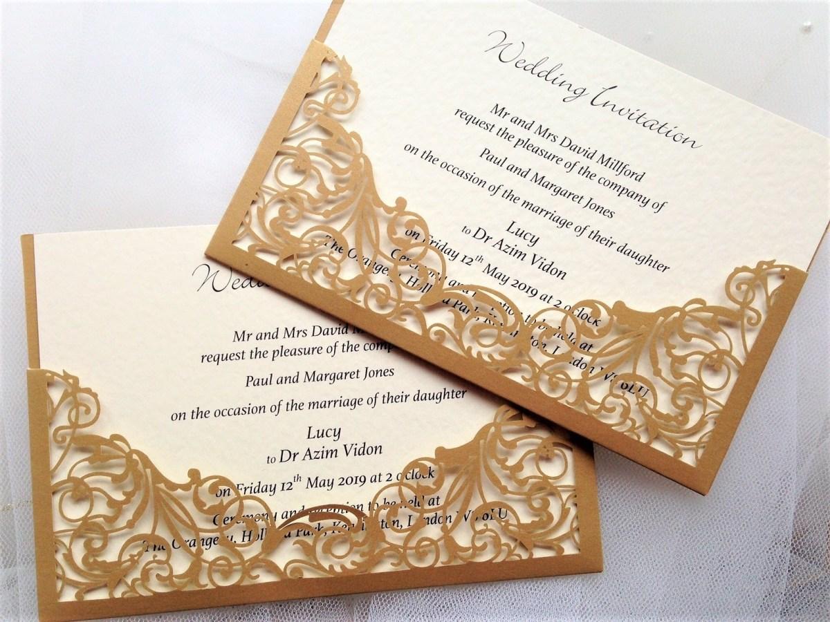 Wedding Invitations Gold Gold Wedding Invitations Gold Wedding Invites