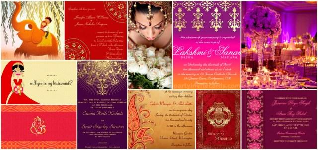 Wedding Invitations Indian Hindu Indian Wedding Invitations Eastern Fusion Designs