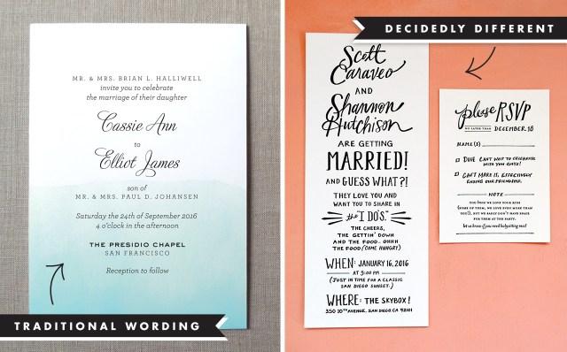 Wedding Invitations Samples Wedding Invitation Wording And Etiquette