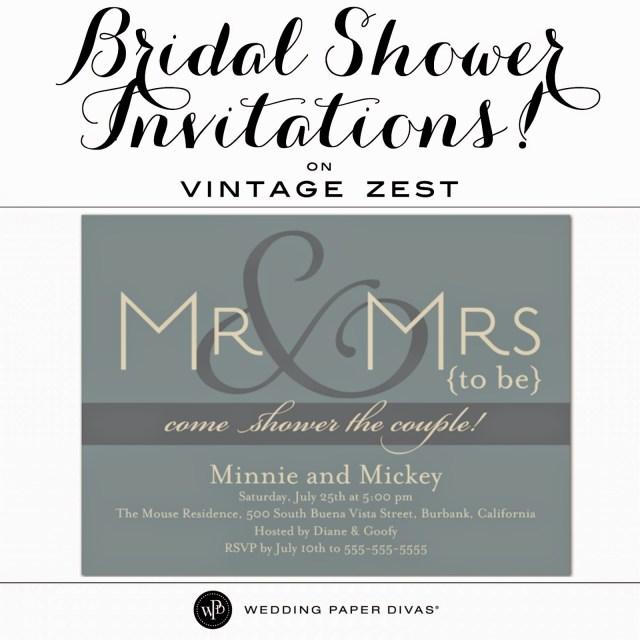 Wedding Invitations Wedding Paper Divas Bridal Shower Invitations With Wedding Paper Divas Dianes Vintage