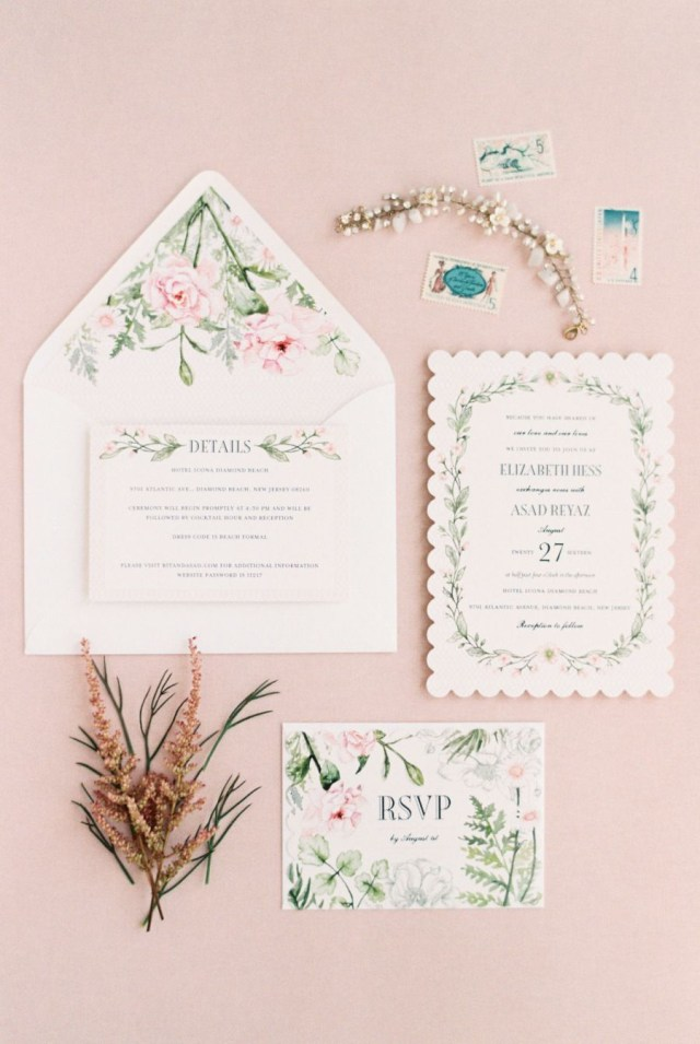 Wedding Invitations Wedding Paper Divas Romantic Pastel Wedding Invitation Suite Invitations Wedding Paper