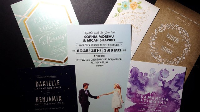 Wedding Invitations Wedding Paper Divas Wedding Invitation Review Wedding Paper Divas Set 1 Youtube