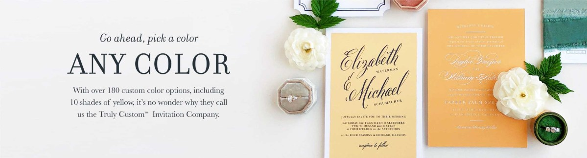 Wedding Invitations With Photos Wedding Invitations Match Your Color Style Free