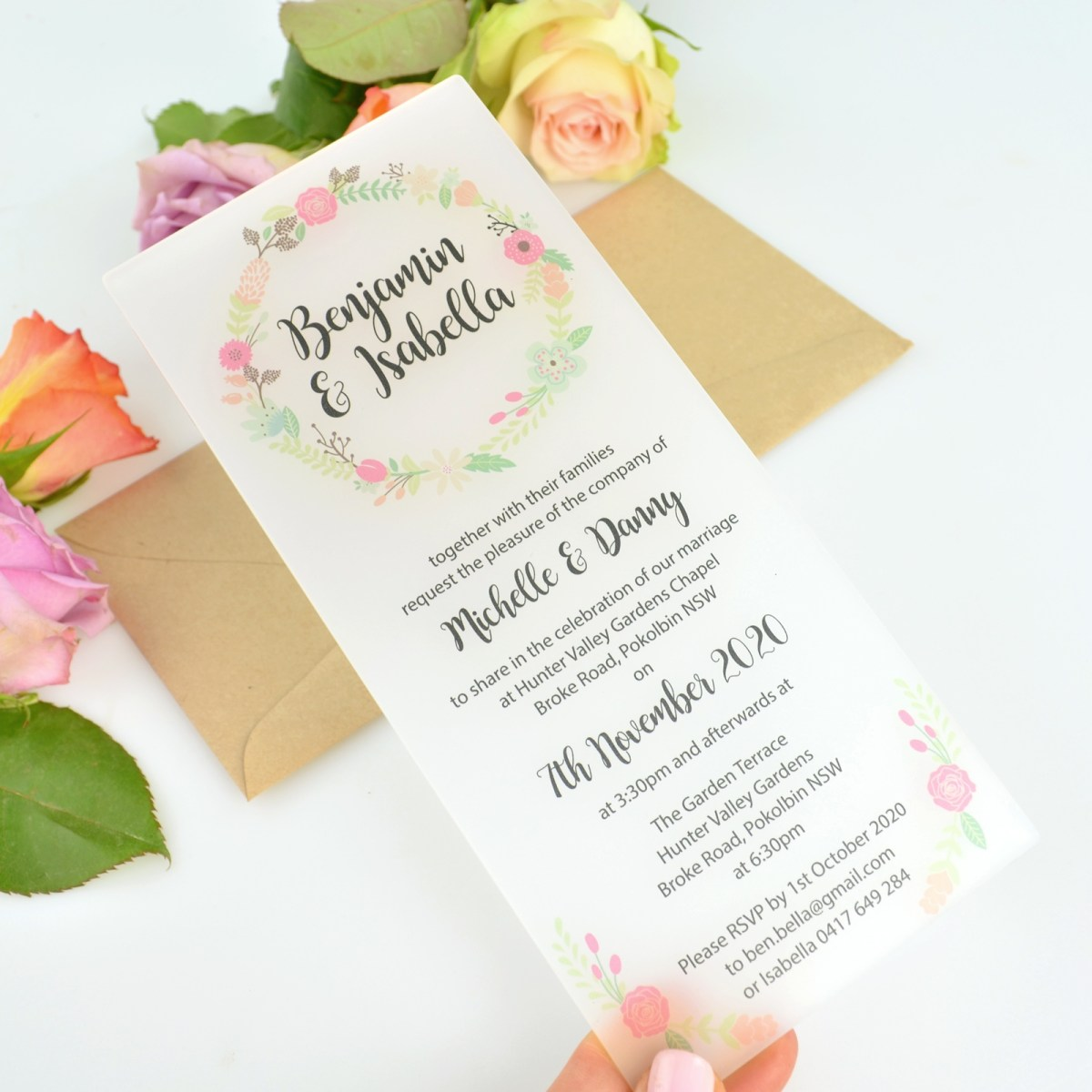 Wedding Invitations With Photos Wedding Invitations Personalised Favours