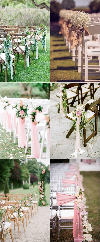 Wedding Isle Decorations Outdoor Wedding Aisle Decoration