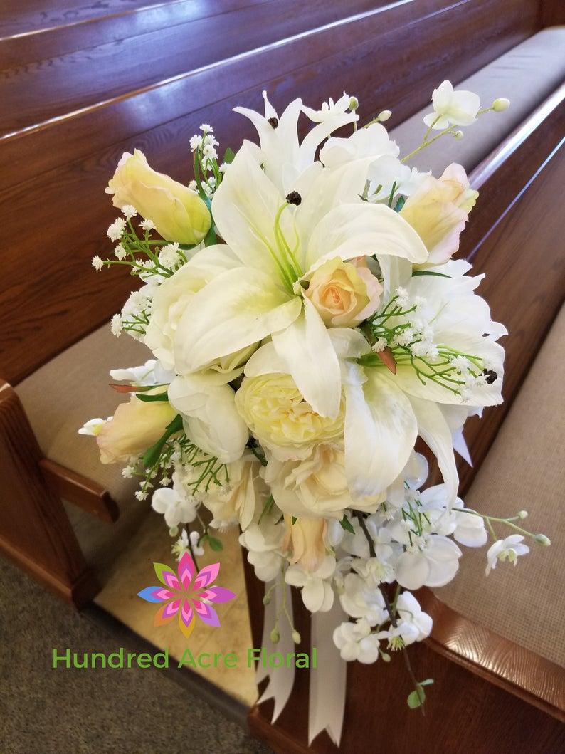 Wedding Isle Decorations Pew Flowers For Wedding Pew