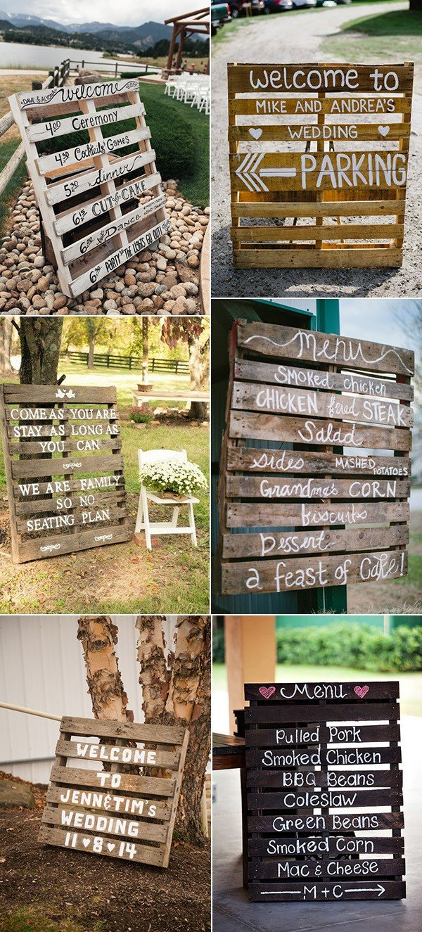 Wedding Pallet Ideas 24 Ideas To Use Wood Pallet For Your Country Wedding Oh Best Day Ever