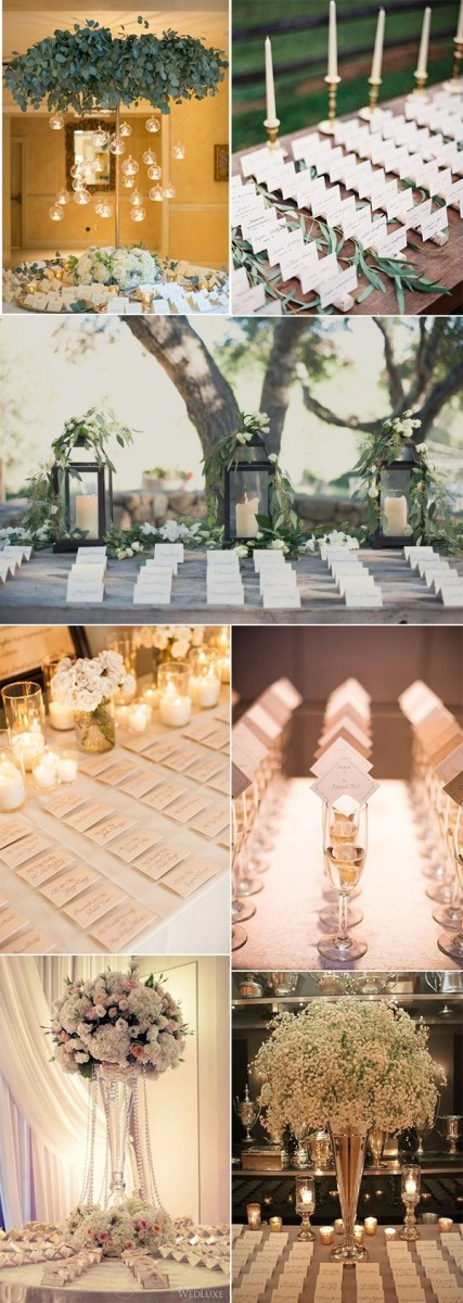 Wedding Placecards Ideas 20 Elegant Wedding Place Table Decoration Ideas Emmalovesweddings