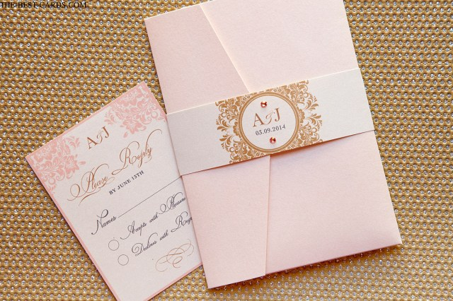 Wedding Pocket Invitations Tender Love Wedding Invitation Pocket Holder Suite With Waistband