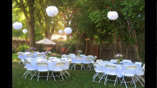 Wedding Reception Ideas Backyard Wedding Reception Ideas Youtube