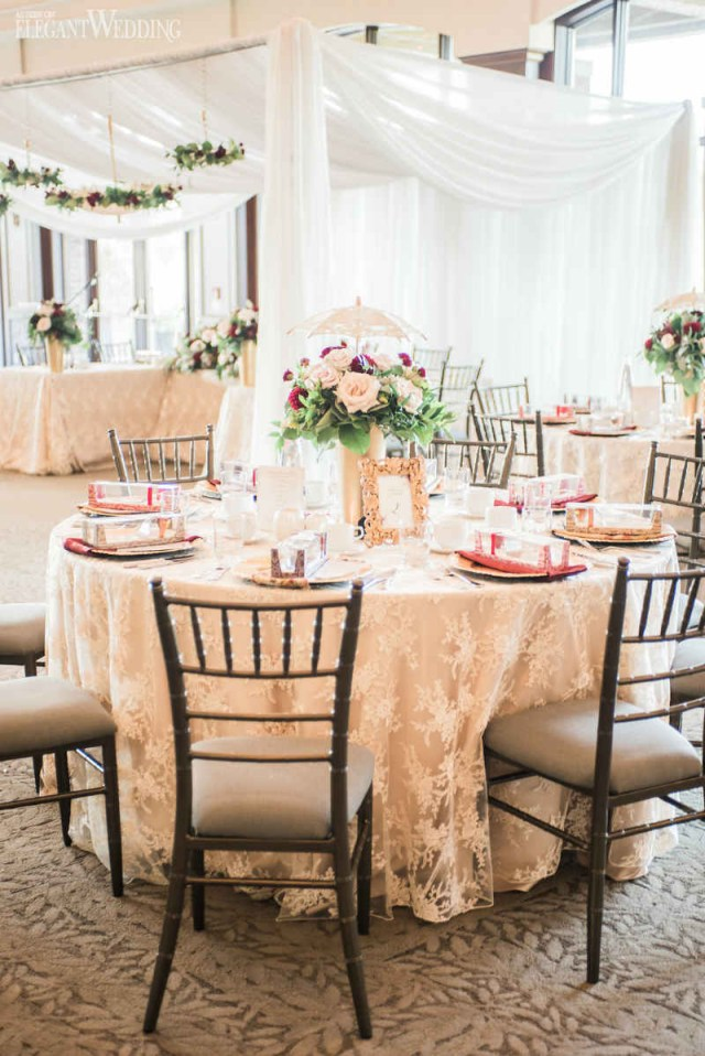 Wedding Shower Decorations Burgundy Bridal Shower Inspiration Elegantweddingca