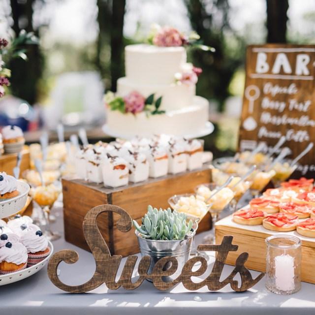 Wedding Table Ideas 10 Dessert Table Ideas To Make Your Wedding Reception Unforgettable