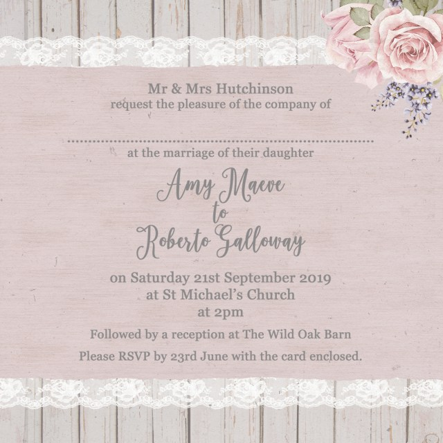What To Say On A Wedding Invitation The Complete Guide To Wedding Invitation Wording Sarah Wants