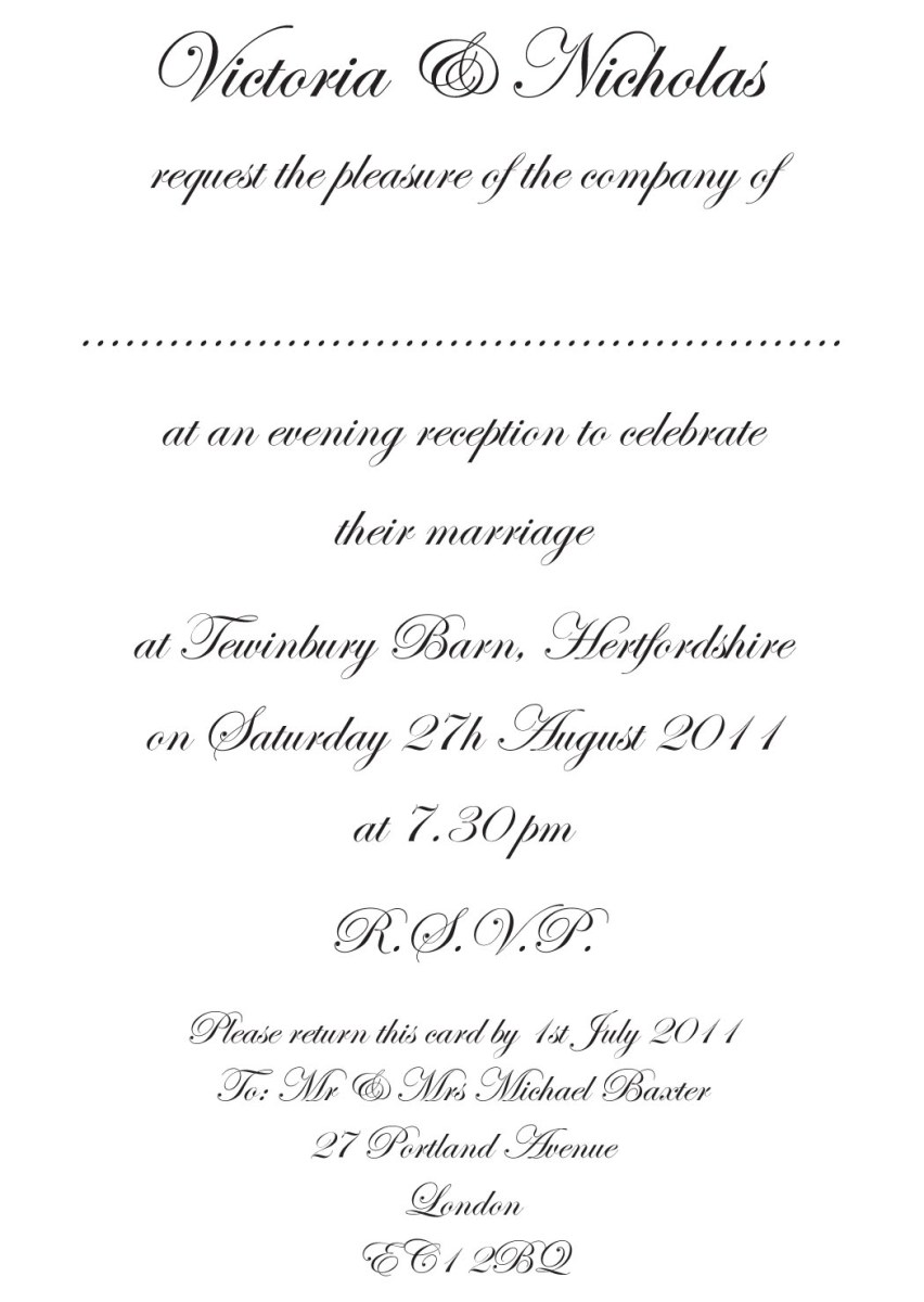 What To Write In A Wedding Card.What To Write On A Wedding Invitation Wedding Invitation Message