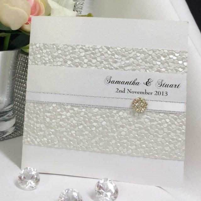 White Wedding Invitations White Wedding Invitation Square Ga3 Something Fabulous Invitations