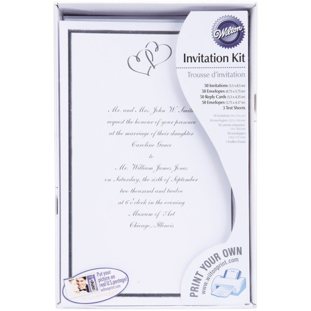 Wilton Wedding Invitation Kits Wedding Invitations On Amazon Awesome Wilton Wedding Invitations