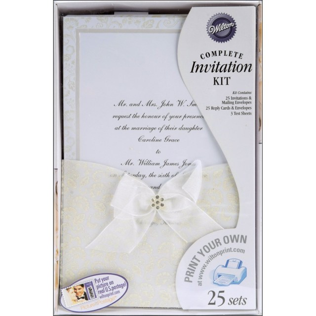 Wilton Wedding Invitation Kits Wilton Wedding Invitations Marina Gallery Fine Art
