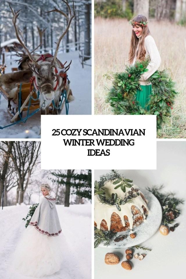 Winter Wedding Ideas 25 Cozy Scandinavian Winter Wedding Ideas Weddingomania