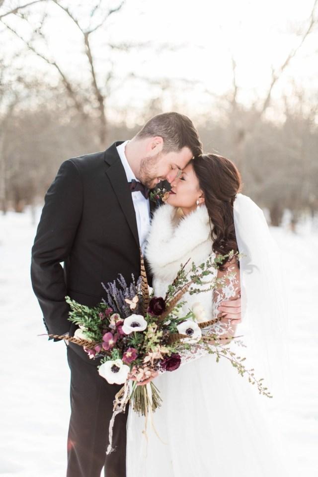 Winter Wedding Ideas Gallery Burgundy And Blue Winter Wedding Ideas From Maine