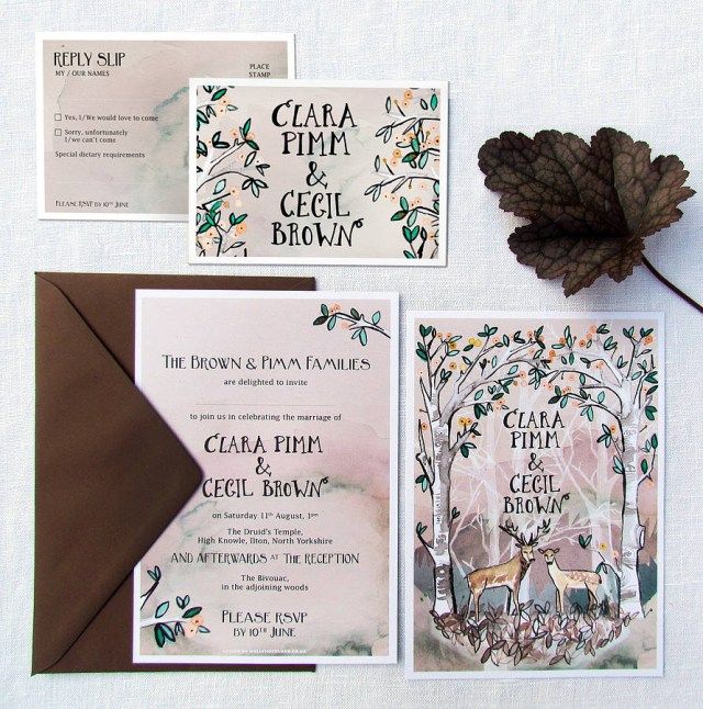 Woodland Wedding Invitations Woodland Wedding Invitations Woodland Wedding Invitations Means