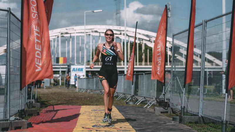 Jolien Vermeylen verrast met Belgisch goud op sprintafstand