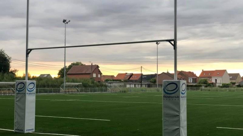 Nieuw veld van Rugby Club Leuven ligt er