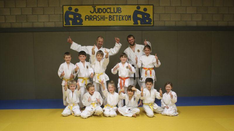 Judoclub Arashi Betekom beleeft plezier (hopelijk vanaf oktober)