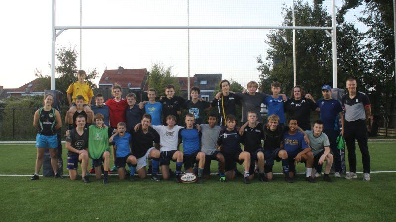 U16 Rugby Club Leuven willen schitteren in qualifier drie