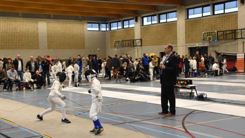 Schermclub Parcival zet in op initiaties en duel met Poolse club