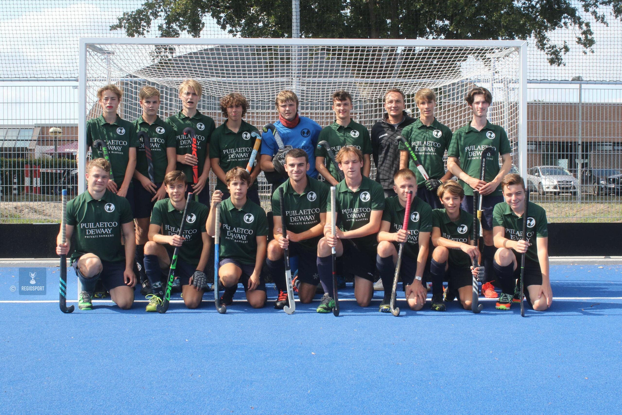 U19 HC Inter Mol staat tweede in VHL 1
