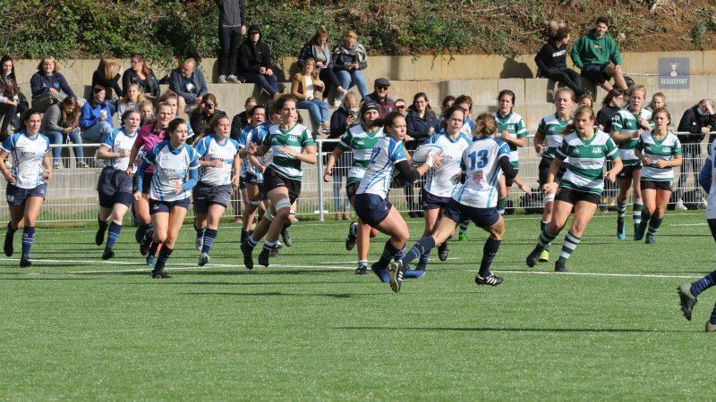 Vrouwen Rugby Club Leuven geklopt door ervarener Gent