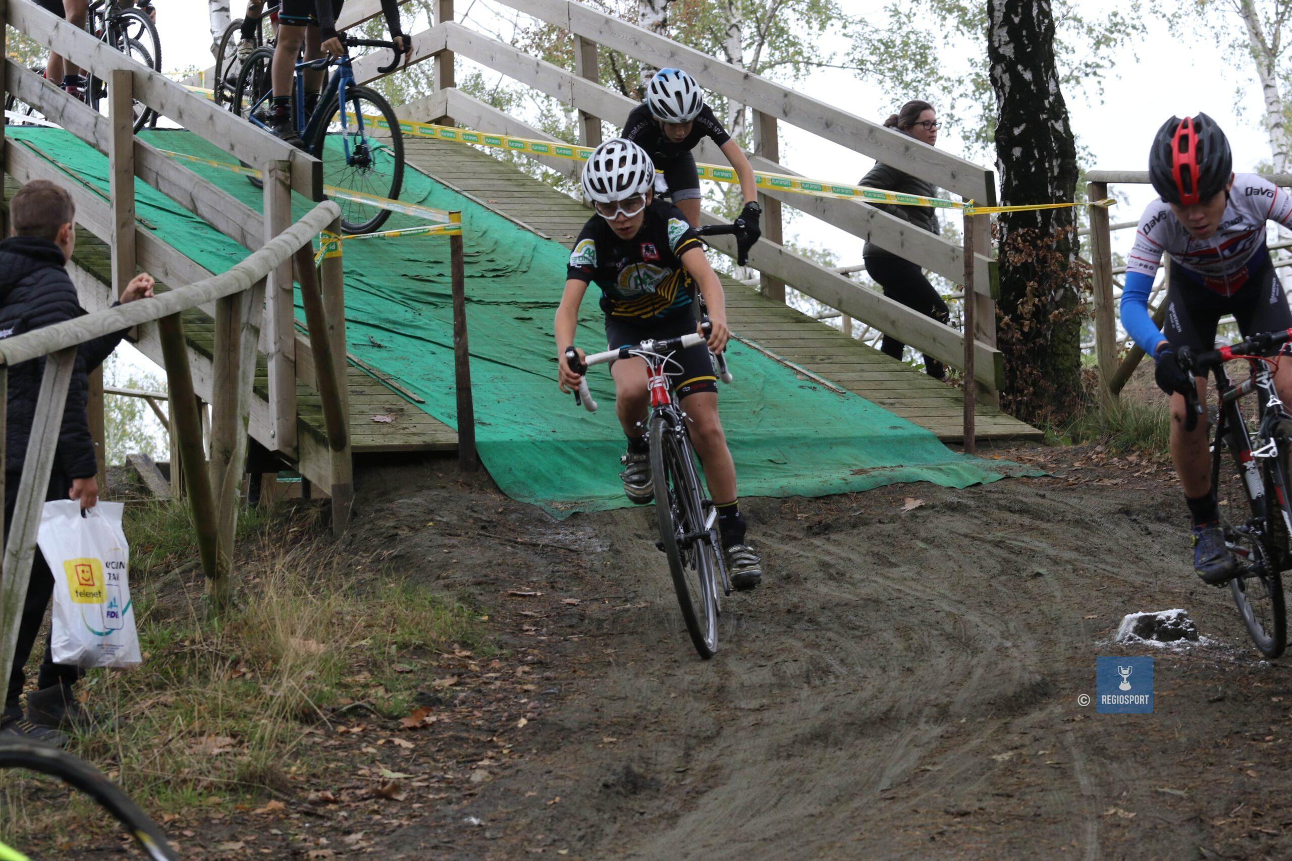 Cyclocrossen op de Balenberg vinden coronaproof plaats