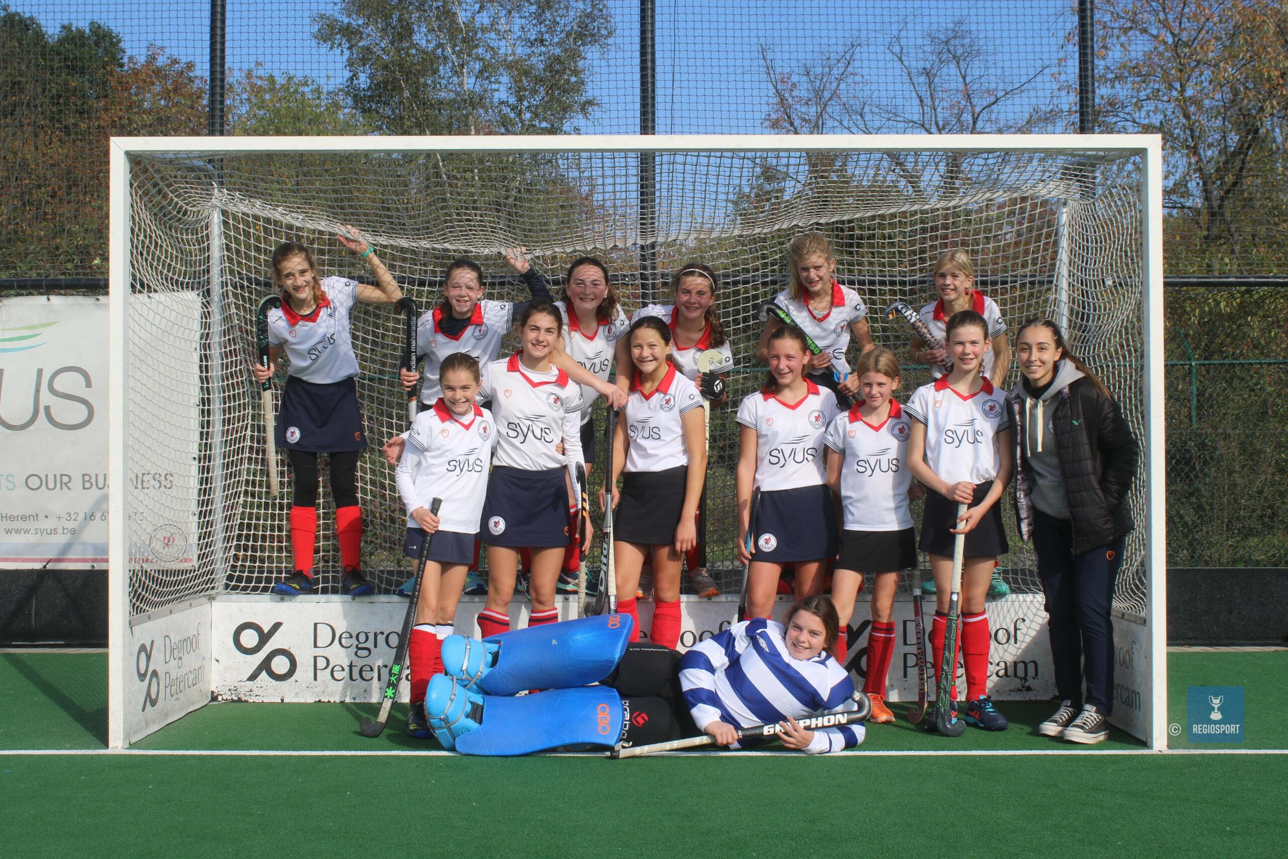 U14 girls 2 KHC Leuven pakken eerste zege