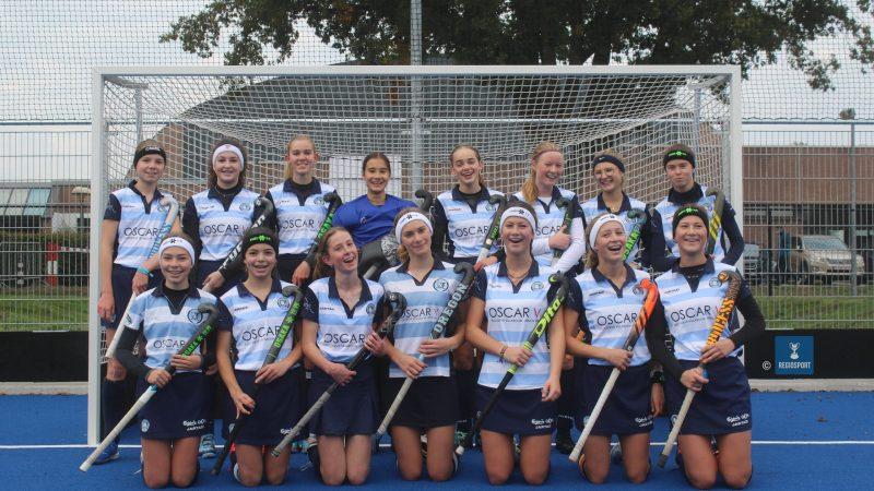 U16 girls Keerbergen Tigers blinken uit in discipline