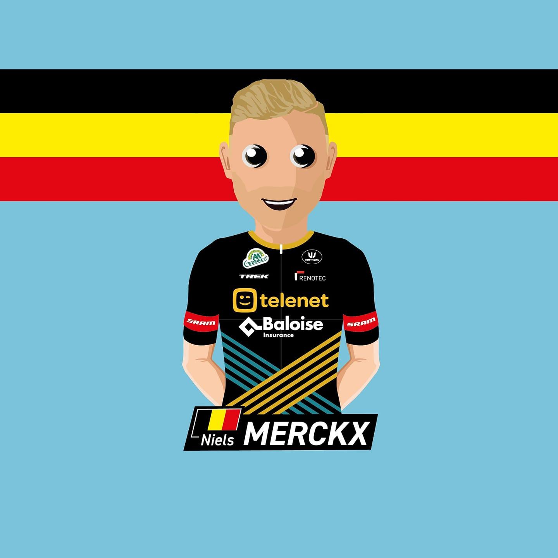 Niels Merckx is een Baloise-Trek Lion!