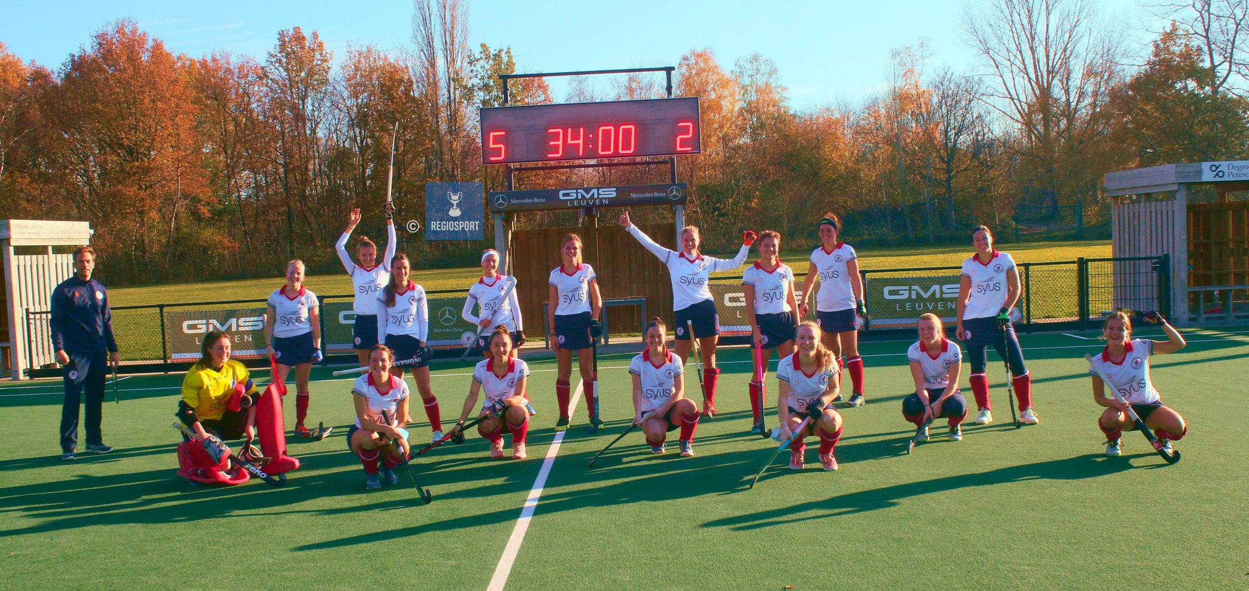 Vrouwen KHC Leuven trekken laken naar zich toe in tweede helft tegen White Star