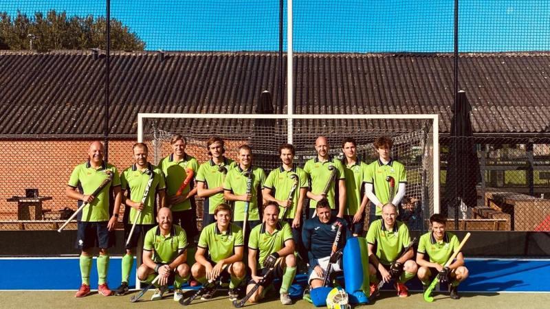 Eerste herenploeg van Merode Hockey Grimbergen presteert prima