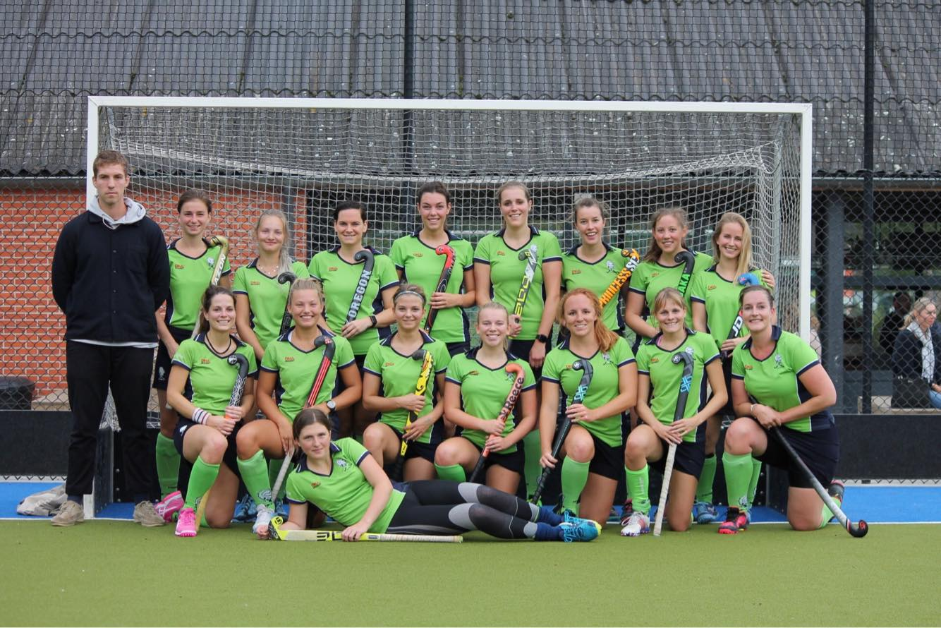 Meiden Merode Hockey Grimbergen debuteren in nationale reeksen